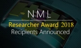 Congratulations, NML Researcher Award 2018 Recipients Announced