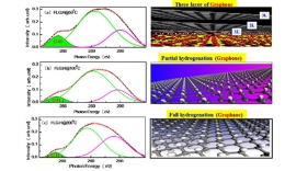 Electronic and Magnetic Behaviors of Hydrogen Functionalized Graphene Nanostructure Material