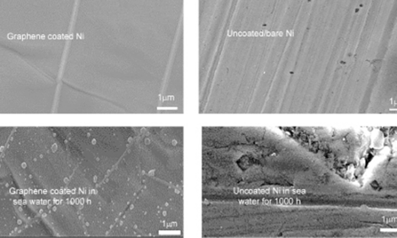 Graphene Coating and Nanocrystalline Alloy Structure: Two Novel Nanotechnology Approaches for Remarkable Corrosion Resistance